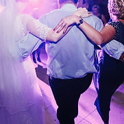 dancing at wedding reception thank you song to guests last dance song