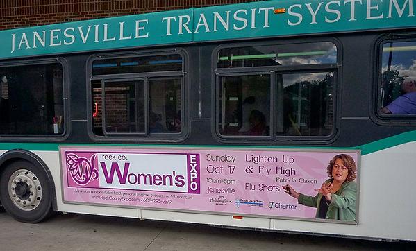 Janesville Transit System Ad