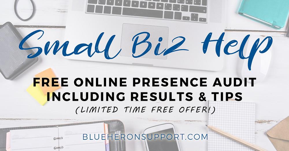 Free Online Presence Audit