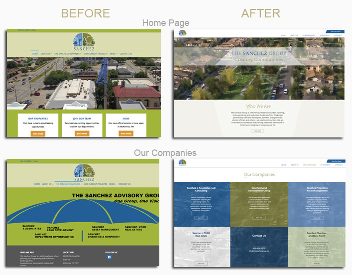 Website Makeover Before-After