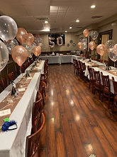 Function room for private parties