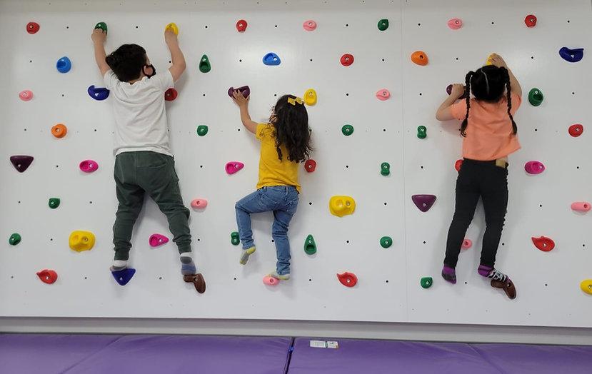Kids indoor climbing wall in Hoboken NJ