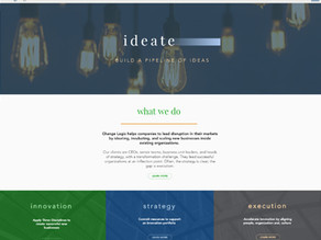 Complete Website Makeover for Change Logic in Boston!