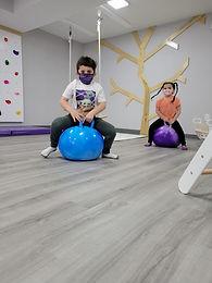 Open play kids indoor play space