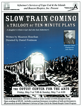 Slow Train Coming Play Poster