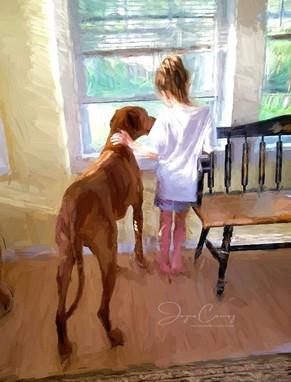 Dog's Love Portrait
