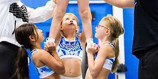Tiny Tumble classes at US Cheer