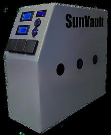 SunVault Eclipse solar generator hybrid unit