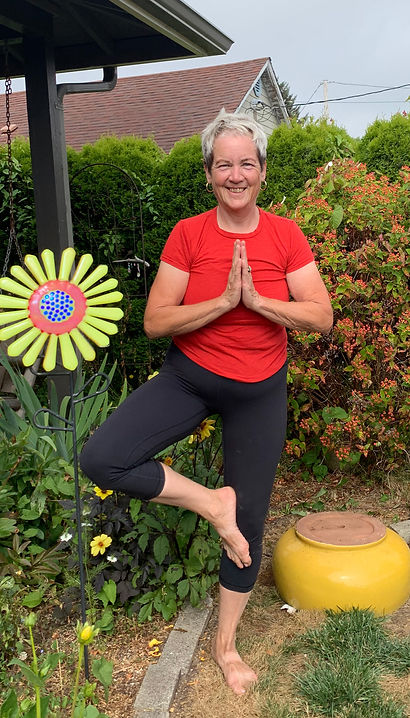 Robin McLaughlin is the owner of Ocean Yoga To Go in Newport OR