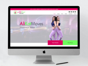 AliKat Moves Handles COVID-19 with Zoom Classes and a Website Makeover!