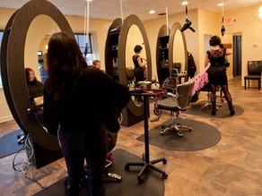 First Website Makeover of 2018 Complete:  Prisms Hair Design