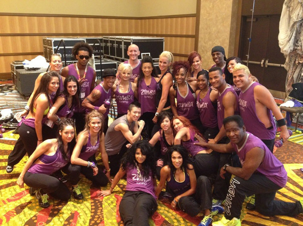 Zumba Convention Toning Group
