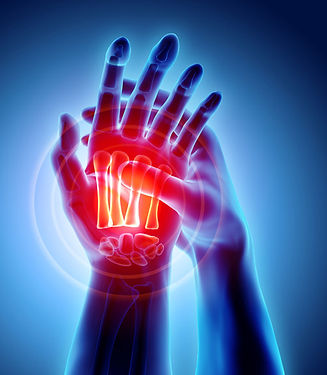 conditions treated with therapy include fractures ans soft tissue trauma