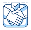 Partners Handshake - Our Partners that supply discounted healthcare products and services