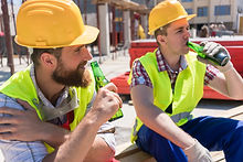 Employees drinking on the job