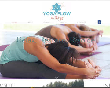Blue Heron launches Yoga Flow on the Go website!