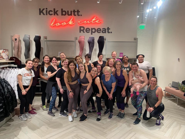 Class at Fabletics @ Natick Mall