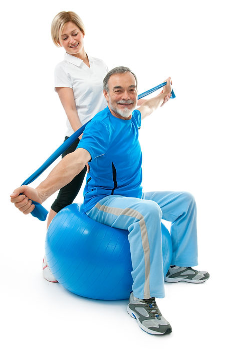 Therapeutic excercises for upper body, arm and hand strengthening