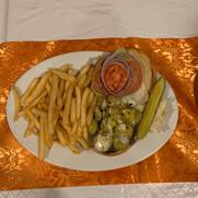 Fried Jalapeno Burger