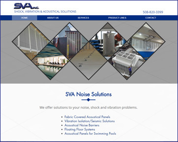 Blue Heron launches a complete website makeover for SVA, Inc.