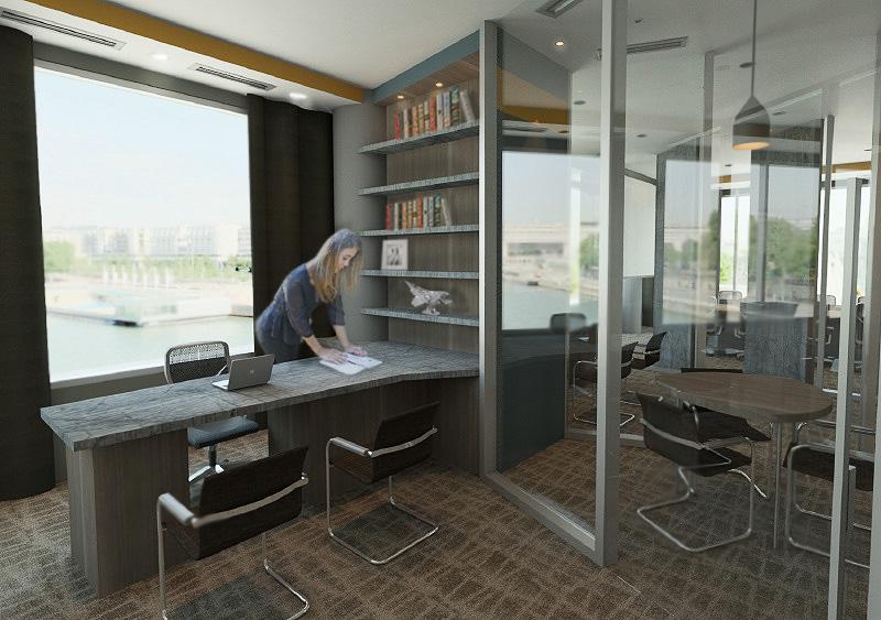 Interiordesign for Endicott college interior design