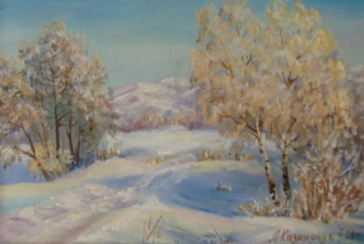 Зима 40х30 х.м.