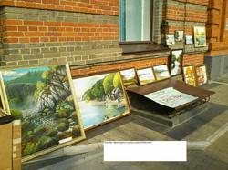 Уличная выставка