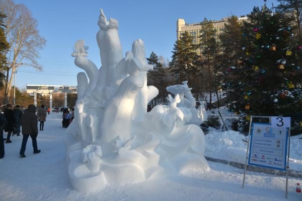 Конкурс снежных скульптур (5)