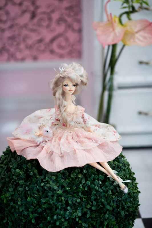 Паулина. Будуарная кукла. 2017 г (3)