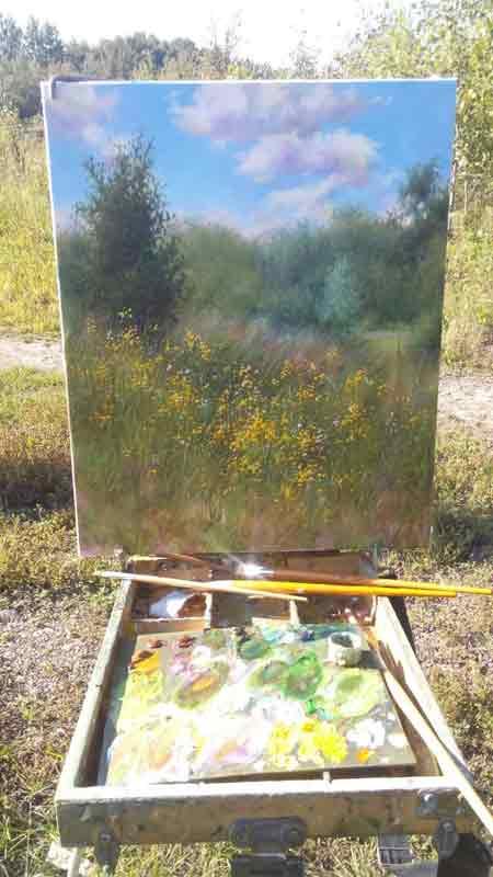 Пленер-Полевые-цветы