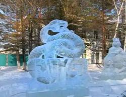 Скульптура на год Змеи