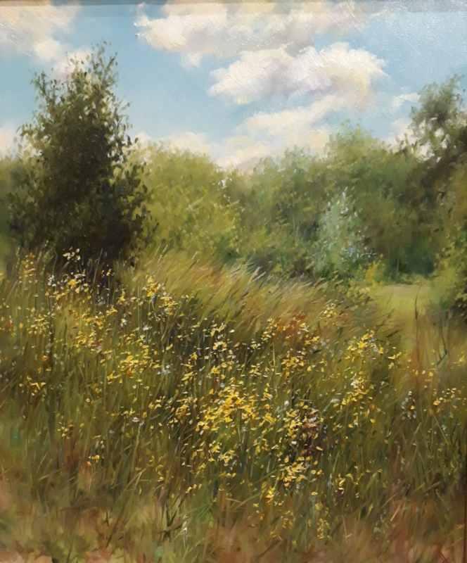 Полевые цветы. х.м.