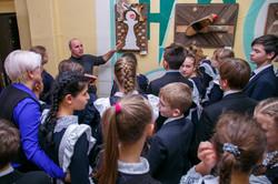 Выставка в 45 гимназии