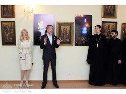 Выставка произведений Александра и Елены Тихомировых 2