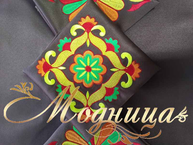 Салфетки с вышивкой