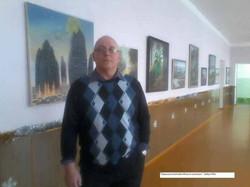 Персональная выставка в военном санатории