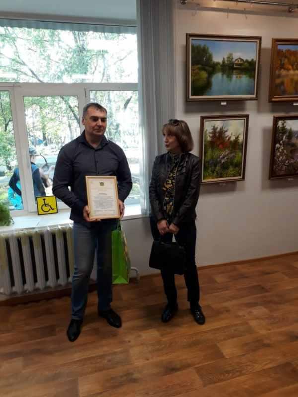 Вяземский. Открытие выставки  (17)