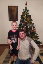 Илья с сыном