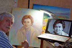 Работа над портретом