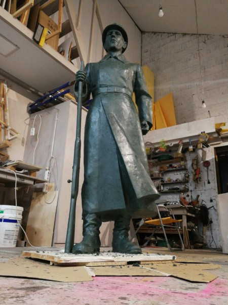 Скульптура в мастерской