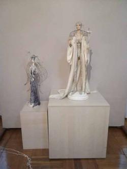 Выставка в Художественном музее. 2018 г.