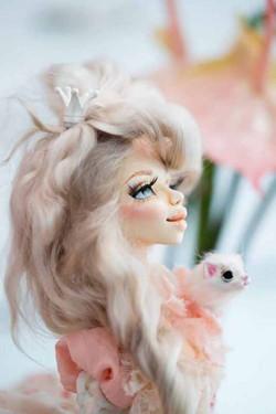 Паулина. Будуарная кукла. 2017 г (2)