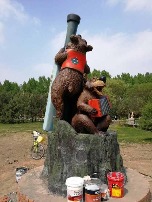 """Скульптуры для """" Усадьбы Волга """","""