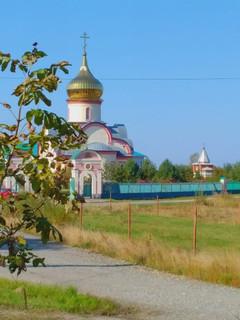 Пленэр у монастыря