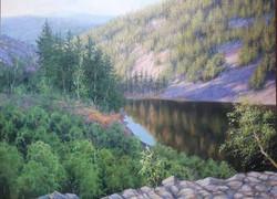 Озеро Амут 55х75 хм