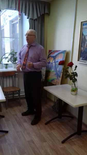 Рассказ художника о картинах