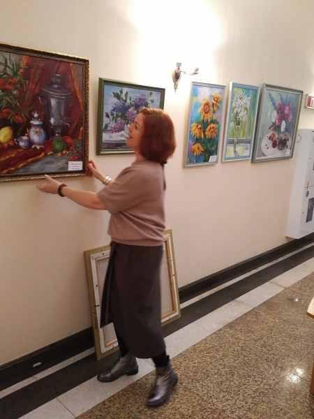 Монтаж выставки