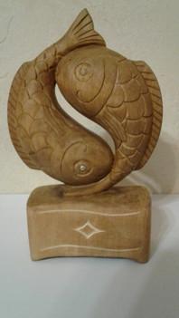 Статуэтка Рыбки Инь-Янь