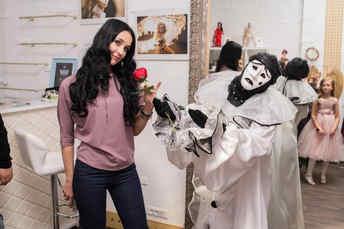 Открытие выставки кукол