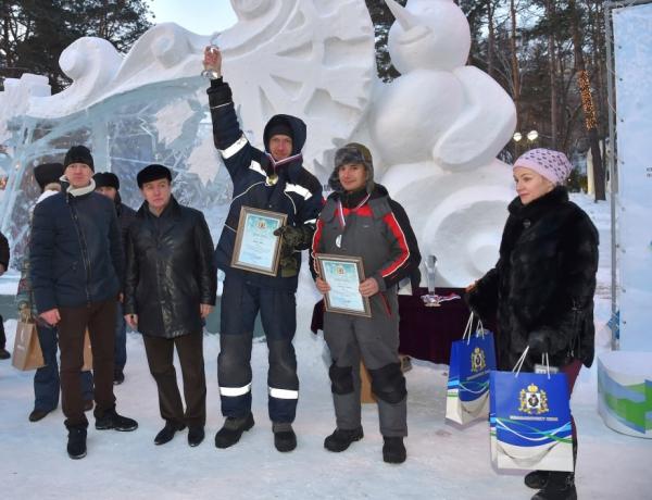 Конкурс снежных скульптур (9)